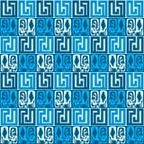 πρότυπο άνευ ραφής στοιχεία υποβάθρου των φυλετικών σχεδίων εθνικό πρότυπο κομψοί φραγμοί boho Boho Στοκ Φωτογραφίες