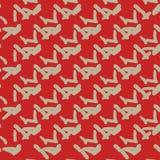 πρότυπο άνευ ραφής Σύσταση των αφηρημένων ραβδιών Στοκ Φωτογραφία