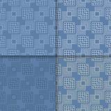 πρότυπο άνευ ραφής Το σύνολο χρωμάτισε το γεωμετρικό υπόβαθρο Στοκ Φωτογραφίες