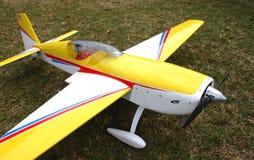 πρότυπο αεροπλάνο στοκ εικόνες