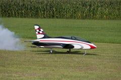 Πρότυπο αεροπλάνο - αεριωθούμενο αεροπλάνο - Modelljet Στοκ Εικόνα