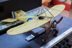 πρότυπο αεροπλάνο Στοκ Φωτογραφίες