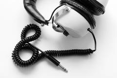 πρότυπο ακουστικών Στοκ Φωτογραφίες