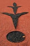 πρότυπο αμμοχάλικου Στοκ Εικόνες