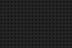 Πρότυπο αστεριών στη μαύρη ανασκόπηση Στοκ Εικόνα