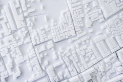 Πρότυπο αστικό σχέδιο έννοιας εικονικής παράστασης πόλης αρχιτεκτονικής στοκ εικόνες με δικαίωμα ελεύθερης χρήσης