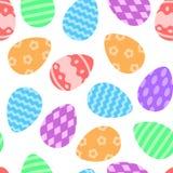 πρότυπο αυγών Πάσχας άνευ ρ& επίσης corel σύρετε το διάνυσμα απεικόνισης στοκ φωτογραφίες