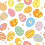 πρότυπο αυγών Πάσχας άνευ ρ& Στοκ εικόνα με δικαίωμα ελεύθερης χρήσης