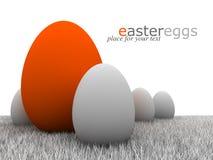 πρότυπο αυγών Πάσχας σχεδίου Στοκ Φωτογραφίες