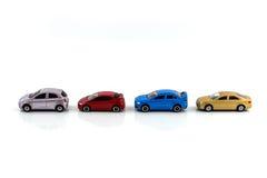 Πρότυπο αυτοκινήτων παιχνιδιών Στοκ Εικόνα