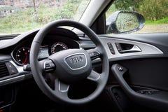 Πρότυπο αυτοκινήτων 2013 φορείων Audi A6 Στοκ Εικόνες