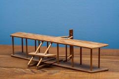 Πρότυπο αδελφών Wright Στοκ Εικόνες