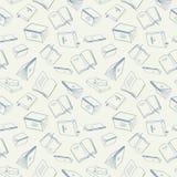 πρότυπο βιβλίων άνευ ραφής Στοκ εικόνα με δικαίωμα ελεύθερης χρήσης
