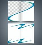 Πρότυπο βιβλιάριων, επιχειρησιακό φυλλάδιο σχεδιαγράμματος Στοκ φωτογραφία με δικαίωμα ελεύθερης χρήσης