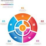 Πρότυπο για την επιχειρησιακή παρουσίαση Στοκ εικόνα με δικαίωμα ελεύθερης χρήσης