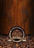 Πρότυπο για τις επιλογές σπιτιών καφέ Στοκ φωτογραφία με δικαίωμα ελεύθερης χρήσης