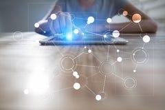 Πρότυπο για το κείμενο, υπόβαθρο με τα εικονίδια Επιχείρηση, Διαδίκτυο, έννοια τεχνολογίας Στοκ φωτογραφία με δικαίωμα ελεύθερης χρήσης
