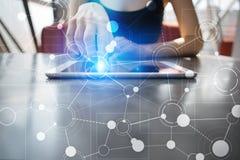 Πρότυπο για το κείμενο, υπόβαθρο με τα εικονίδια Επιχείρηση, Διαδίκτυο, έννοια τεχνολογίας Στοκ εικόνες με δικαίωμα ελεύθερης χρήσης