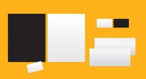 Πρότυπο για το μαρκάρισμα της ταυτότητας απεικόνιση αποθεμάτων