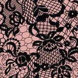 πρότυπο δαντελλών λουλουδιών άνευ ραφής Στοκ φωτογραφίες με δικαίωμα ελεύθερης χρήσης