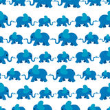 πρότυπο ελεφάντων Στοκ Εικόνα