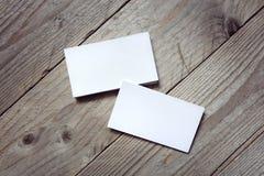 Πρότυπο επαγγελματικών καρτών για το μαρκάρισμα της ταυτότητας Στοκ φωτογραφία με δικαίωμα ελεύθερης χρήσης