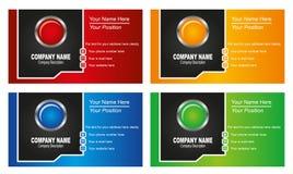 Πρότυπο επαγγελματικών καρτών απεικόνιση αποθεμάτων