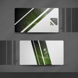 Πρότυπο επαγγελματικών καρτών. Στοκ Εικόνες