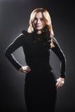 Πρότυπο ελκυστικό πορτρέτο γυναικών μόδας Στοκ Εικόνες