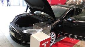 Πρότυπο ηλεκτρονικό αυτοκίνητο του S Στοκ Εικόνα