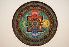 πρότυπο Θιβέτ Στοκ Εικόνες