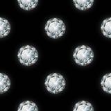πρότυπο διαμαντιών άνευ ραφής επίσης corel σύρετε το διάνυσμα απεικόνισης Στοκ φωτογραφία με δικαίωμα ελεύθερης χρήσης