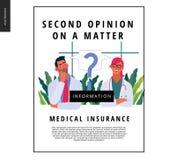 Πρότυπο ιατρικής ασφάλειας - δεύτερη άποψη απεικόνιση αποθεμάτων