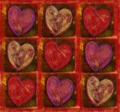 πρότυπο καρδιών Στοκ Εικόνα