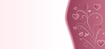 Πρότυπο καρτών γαμήλιας πρόσκλησης Στοκ εικόνες με δικαίωμα ελεύθερης χρήσης