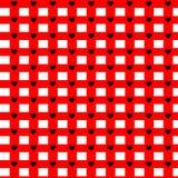 πρότυπο καρδιών άνευ ραφής Διάνυσμα που επαναλαμβάνει τη σύσταση Στοκ Εικόνες