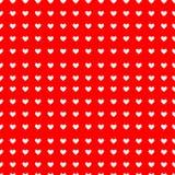 πρότυπο καρδιών άνευ ραφής Διάνυσμα που επαναλαμβάνει τη σύσταση Στοκ Φωτογραφίες