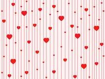 πρότυπο καρδιών άνευ ραφής Στοκ εικόνες με δικαίωμα ελεύθερης χρήσης