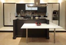 πρότυπο κατάστημα κουζινών Στοκ Εικόνα