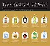 Πρότυπο καταλόγων κρασιού Alccohol για τη διανυσματική απεικόνιση σχεδίου επιλογών φραγμών ή εστιατορίων Δημιουργικό καλλιτεχνικό απεικόνιση αποθεμάτων