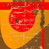 πρότυπο καταστημάτων σχεδίου καφέ απεικόνιση αποθεμάτων