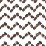 πρότυπο καφέ φασολιών άνευ Στοκ Φωτογραφία
