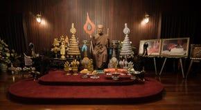 Πρότυπο κεριών στο wat Chalong Phuket Στοκ εικόνες με δικαίωμα ελεύθερης χρήσης
