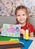 πρότυπο κοριτσιών εφαρμο&g Στοκ φωτογραφίες με δικαίωμα ελεύθερης χρήσης