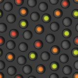 πρότυπο κουμπιών άνευ ραφή&sigm Στοκ εικόνες με δικαίωμα ελεύθερης χρήσης