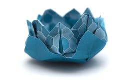 Πρότυπο κρίνων νερού Origami Στοκ Εικόνα