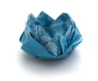 Πρότυπο κρίνων νερού Origami Στοκ Εικόνες