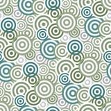 πρότυπο κύκλων άνευ ραφής Στοκ εικόνα με δικαίωμα ελεύθερης χρήσης