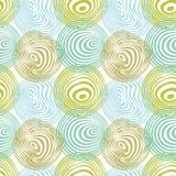 πρότυπο κύκλων άνευ ραφής Στοκ Εικόνα