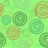 πρότυπο κύκλων άνευ ραφής Στοκ εικόνες με δικαίωμα ελεύθερης χρήσης
